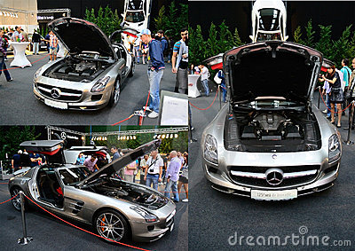 Mercedes Sls Amg Editorial Photography