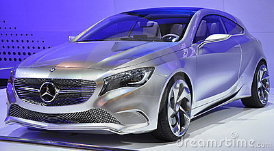 Mercedez-Benz Concept A-Class Editorial Photo
