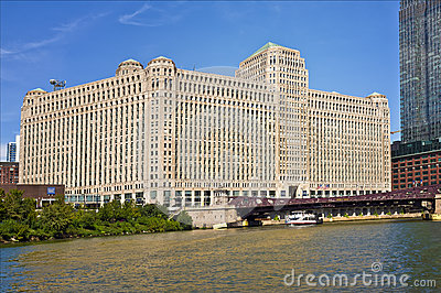The Merchandise Mart, Chicago Illinois Editorial Photo