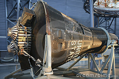 Mercury Capsule 15B Friendship 7II Editorial Stock Photo