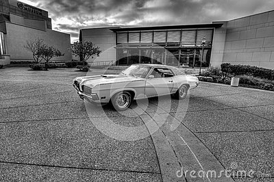Mercury Cougar Editorial Stock Image