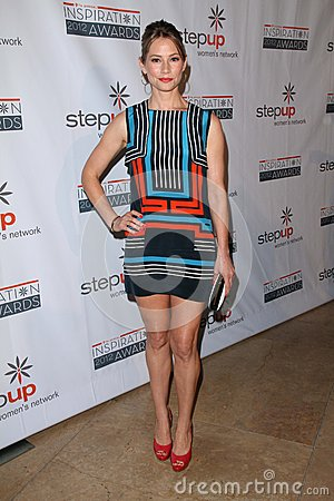 Meredith Monroe at the Step Up Women Network 9th Annual Inspiration Awards, Beverly Hilton Hotel, Beverly Hills, CA 06-08-12 Editorial Image