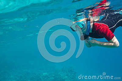 Mergulhador pequeno