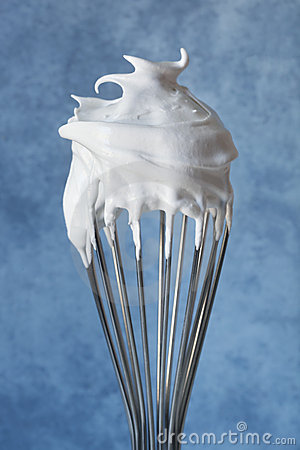 Free Meringue On A Whisk Stock Photography - 14828492