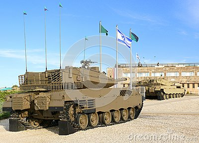 Merkava - serbatoi di battaglia israeliani.