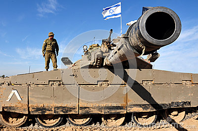Merkava Tank Editorial Photo