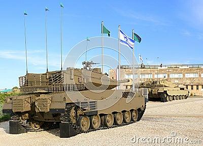 Merkava - tanques de guerra israelitas.