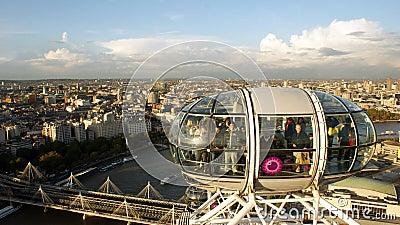 The merlin entertainments london eye Editorial Photo