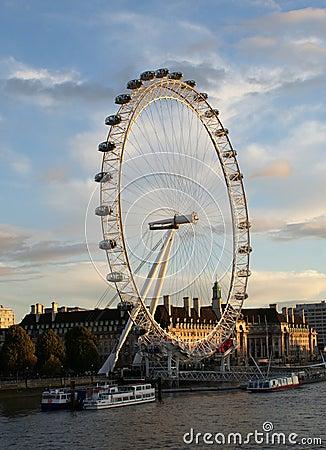 The merlin entertainments london eye Editorial Photography