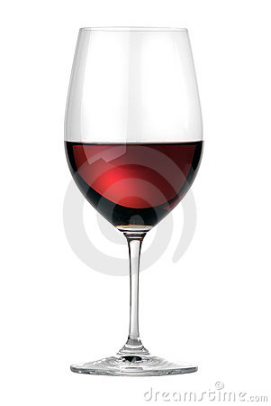 Merlot wineglass