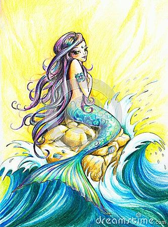 Free Mermaid Stock Photography - 19037122