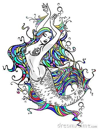Free Mermaid Royalty Free Stock Photos - 4724408