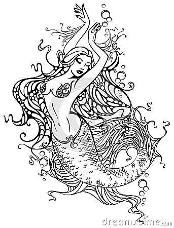 Free Mermaid Stock Image - 4724441