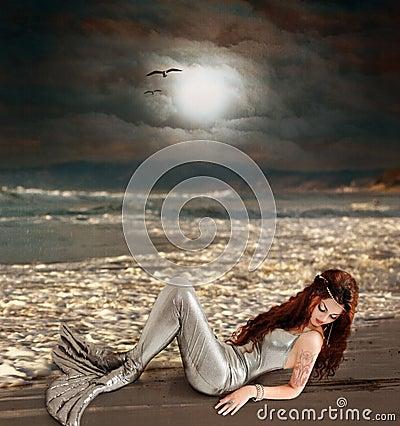 Free Mermaid Royalty Free Stock Photo - 9944165