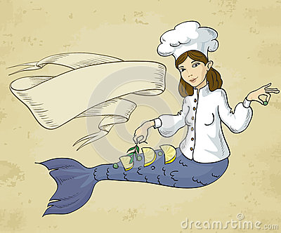 Mermaid chef