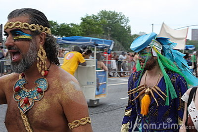 Mermaid Parade 2011 in Brooklyn Editorial Image