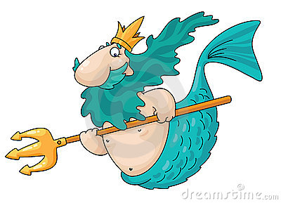 Merman Royalty Free Stock Photos - Image: 15257228