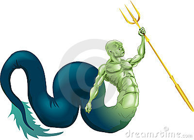 Merman or Poseidon