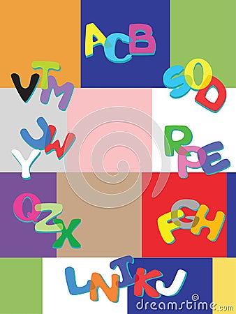 Merry alphabet