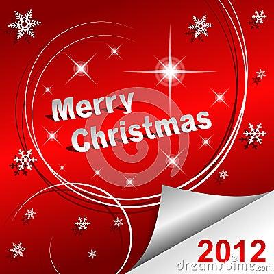 اهــدااء الـى كــل اعـضـاء الــمنـتـدى .. Merry-christmas-2012-red-background-thumb21763211