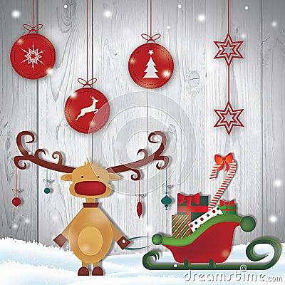 Free Merry Christmas Royalty Free Stock Photo - 80074055