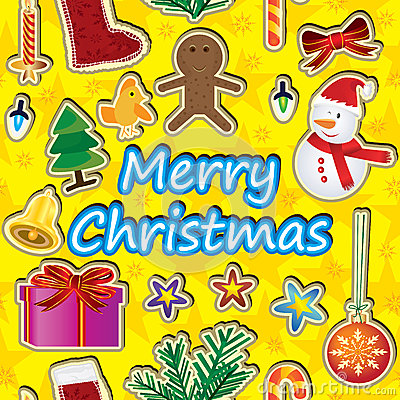 Merry Christmas Around Seamless Pattern_eps