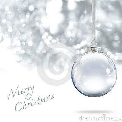 Free Merry Christmas Ball Stock Image - 19618241