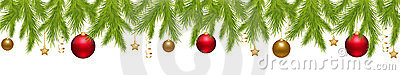Merry Christmas Banner. Vector