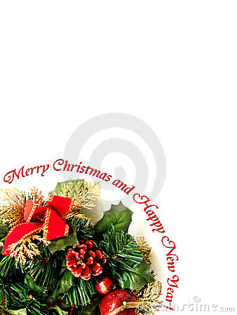 Merry Christmas Border Stock Images - Image: 6943894