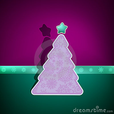 Merry Christmas Card. EPS 8