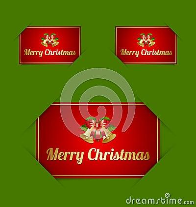 Merry Christmas card holders