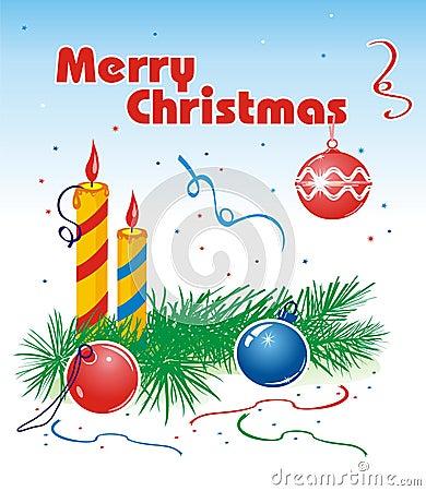 Merry Christmas congratulatory