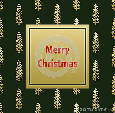 Free Merry Christmas Greeting Card Template Background Royalty Free Stock Photos - 101119758