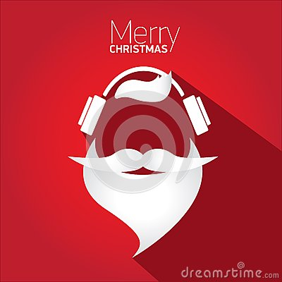 Free Merry Christmas Hipster Poster For Greeting Card. Stock Images - 43017024