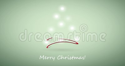 Merry Christmas holiday video animation stock footage
