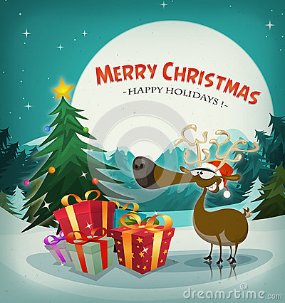 Free Merry Christmas Holidays Background Stock Photography - 36037222