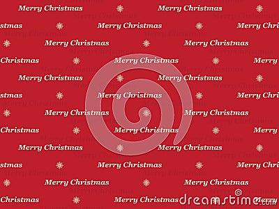 Merry Christmas pattern