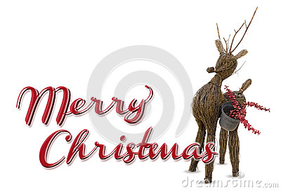 Merry christmas raindeer