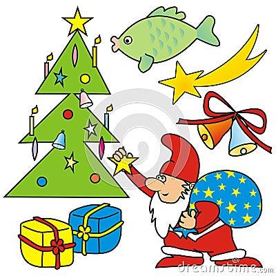 Merry Christmas - symbols