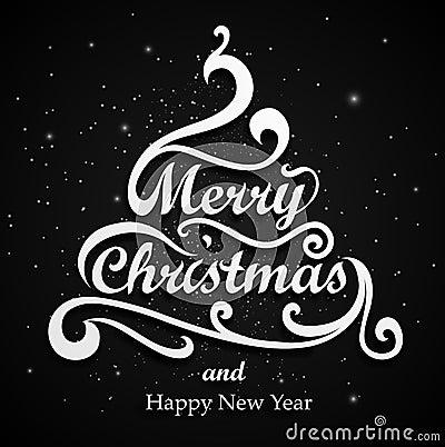 Free Merry Christmas Type Royalty Free Stock Photos - 27961348