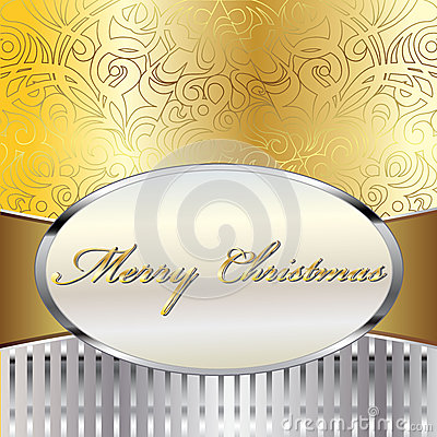Merry Christmas Vector Card