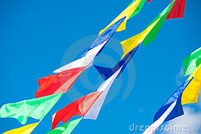 Merry flags