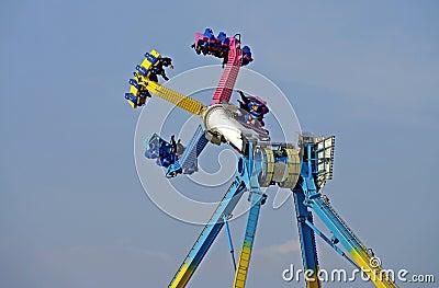 Merry-go-round in action