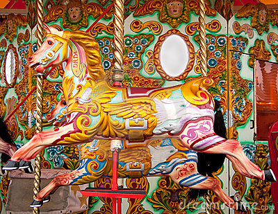 Merry-go-round fair ride