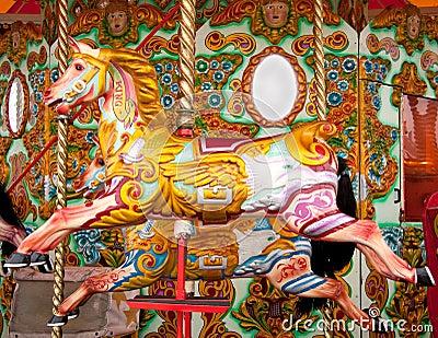 Merry-go-round fair ride