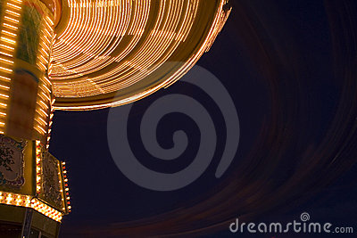 Merry go round at night