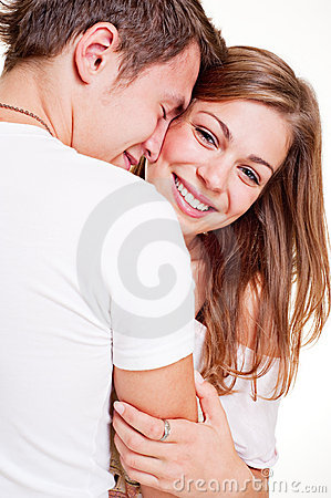 Free Merry Young Couple Royalty Free Stock Images - 11296979