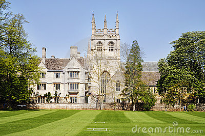 Merton College in the City of Oxford