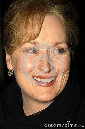 Meryl Streep Editorial Image
