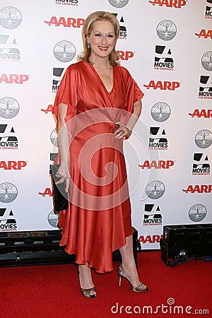 Meryl Streep Editorial Stock Photo